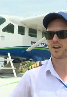 Café Sáng với VTV3: Du lịch Hạ Long bằng… thủy phi cơ