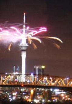 New Zealand bắt đầu đón năm mới 2017