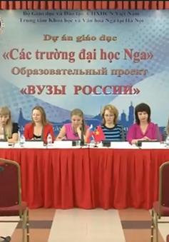 Nga dành cho Việt Nam 855 suất học bổng trong năm 2016