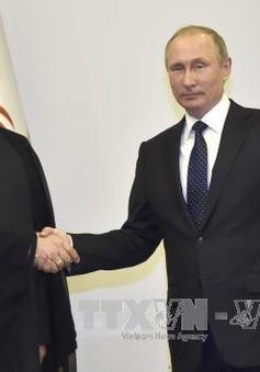Hội nghị thượng đỉnh Nga, Iran và Azerbaijan ra tuyên bố chung