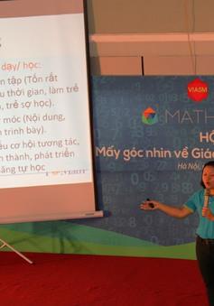 Hà Nội: Người dân háo hức tham gia ngày hội Toán học