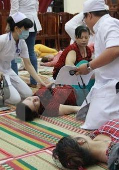 Nam Định: Ngộ độc thực phẩm khi ăn cỗ cưới