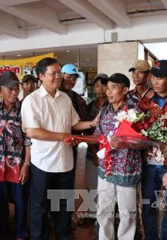 Indonesia trao trả 228 ngư dân Việt Nam