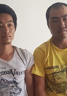 TP.HCM: Bắt giữ 2 đối tượng người Trung Quốc dùng súng giả cướp ô tô