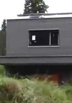 Độc đáo ngôi nhà bằng… giấy tái chế