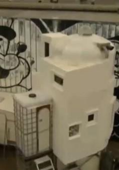 Độc đáo ngôi nhà tái chế tại Hà Lan