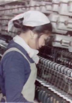 Những hình ảnh độc quyền của VTV về nhà máy Dệt Nam Định năm 1969