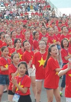 Hơn 5.000 thiếu nhi xác lập hai kỷ lục Việt Nam