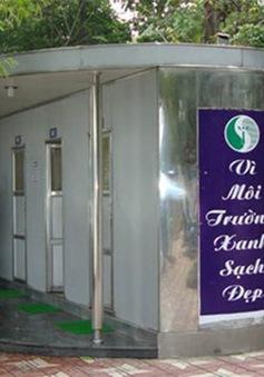 Hà Nội: Xây thêm 1.000 nhà vệ sinh công cộng