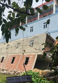 TP.HCM: Nhà 2 tầng ở Củ Chi sụt lún, đổ sập trong đêm