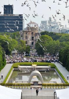 Tưởng niệm 71 năm vụ ném bom nguyên tử xuống Hiroshima