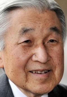 Nhật hoàng Akihito chuẩn bị thoái vị