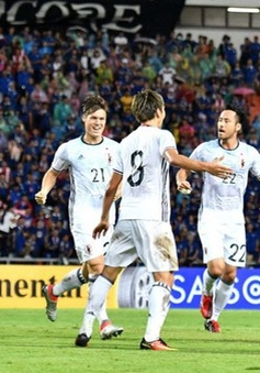 VIDEO: Sao trẻ Arsenal tỏa sáng, ĐT Nhật Bản thắng dễ ĐT Thái Lan