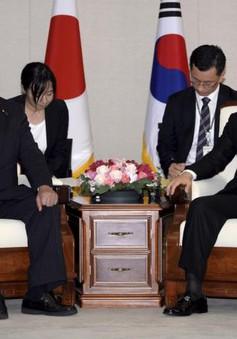 Nhật Bản, Hàn Quốc nhất trí chia sẻ thông tin tình báo