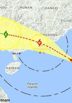 Hong Kong (Trung Quốc) hủy gần 200 chuyến bay đề phòng bão Nida