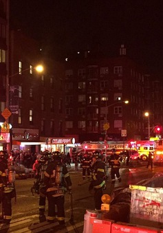 Nổ lớn tại New York: Đã vô hiệu hóa thiết bị gây nổ thứ hai