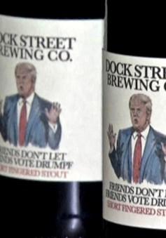"""Mỹ ra mắt loại bia phản đối """"hiện tượng"""" Donald Trump"""
