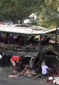 Nổ xe khách tại Lào: Lái xe và phụ xe ra đầu thú