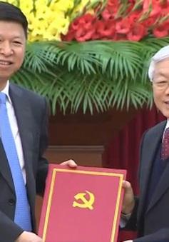 Tổng Bí thư tiếp Đặc phái viên Trung Quốc