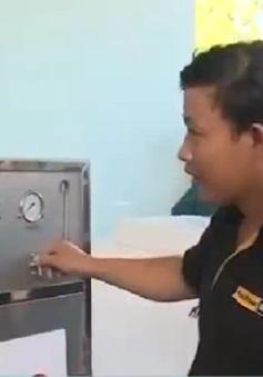 """""""Giọt nước nghĩa tình"""" hỗ trợ người dân ĐBSCL thiếu nước ngọt"""