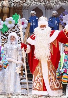 Dịch vụ Ông già Tuyết đắt khách tại Nga