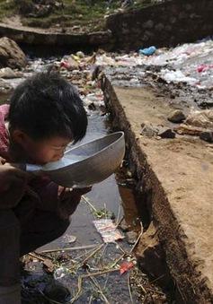 300 triệu người có nguy cơ mắc các bệnh nghiêm trọng do nước bẩn