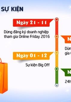 Ngày hội mua sắm Online Friday sẽ diễn ra vào ngày 2/12