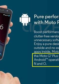 """Android O được Motorola """"vô tình"""" tiết lộ"""