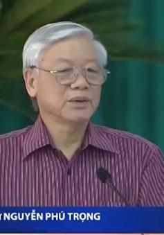 Tổng Bí thư làm việc tại tỉnh Bà Rịa - Vũng Tàu