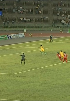 VIDEO Chung kết U16 Đông Nam Á: U16 Australia gỡ 1 bàn trên chấm phạt đền