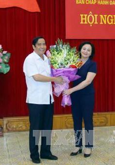 Đồng chí Phạm Thị Thanh Trà giữ chức Bí thư Tỉnh ủy Yên Bái