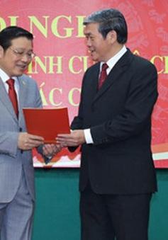 Đồng chí Phan Đình Trạc giữ chức Trưởng Ban Nội chính Trung ương