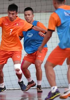 ĐT Futsal Việt Nam tổng duyệt, sẵn sàng ra quân gặp Guatemala