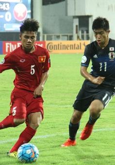 VCK U16 châu Á 2016: U16 Việt Nam thua U16 Nhật Bản 0-7
