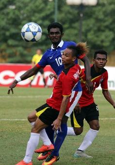 U19 Malaysia thua sốc Timor Leste, U19 Việt Nam chưa thể đi tiếp