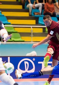 Xác định đối thủ ĐT Futsal Việt Nam ở vòng 1/8 World Cup