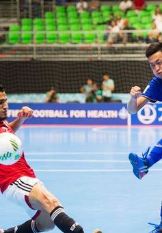 Thắng Ai Cập, Thái Lan chắc suất vào vòng knock-out World Cup futsal 2016