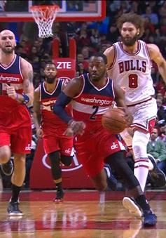 """Chicago Bulls """"thất thủ"""" tại United Center trước Washington Wizards"""