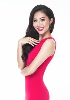 Diệu Ngọc quyến rũ với trang phục dạ hội ở Hoa hậu Thế giới 2016