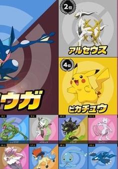 Greninja dẫn đầu các Pokémon được yêu thích nhất tại Nhật