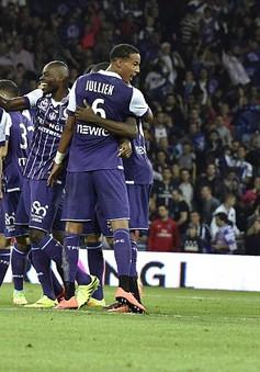 Vòng 7 Ligue 1: PSG gục ngã trước Toulouse