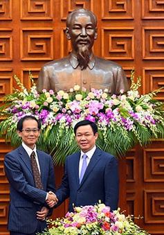 Phó Thủ tướng Vương Đình Huệ tiếp Phó Chủ tịch JICA
