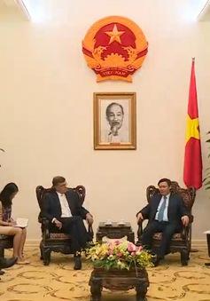 Phó Thủ tướng Vương Đình Huệ tiếp đoàn lãnh đạo Ngân hàng CBA