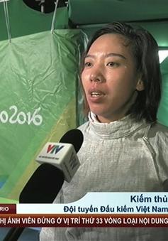 Olympic Rio 2016: Lệ Dung tiếc nuối vì thất bại trước ĐKVĐ Kim Jiyeon