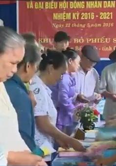 Cử tri các tỉnh Bắc Trung Bộ hân hoan trong ngày hội lớn của dân tộc