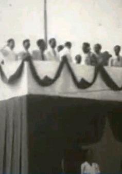 """Những thước phim tư liệu quý về """"Ngày Độc lập 2/9/1945"""""""