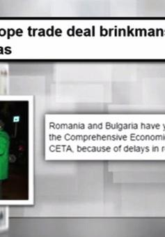 Vì sao Thỏa thuận CETA lại gặp trở ngại?