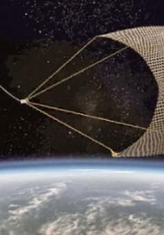 Nhật Bản phóng tàu không gian dọn rác trong vũ trụ