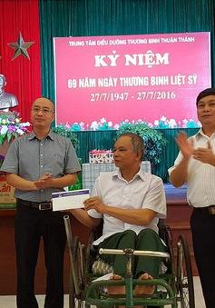 Thanh tra 6 bộ ngành tặng quà thương binh nặng tại Bắc Ninh