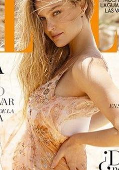 Tình cũ của Leonardo DiCaprio phấn khích khi mang bầu